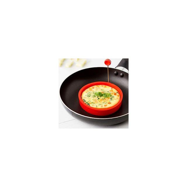 Alpexe Moule a œuf au plat avec poignee maline