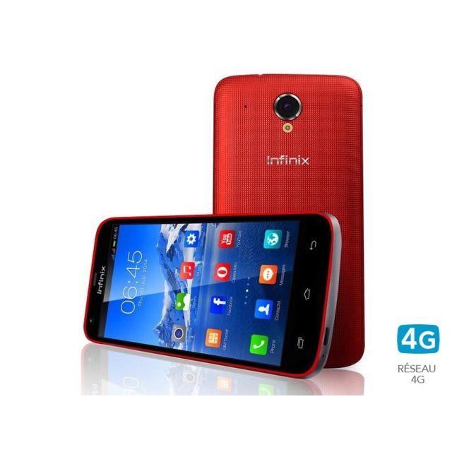 infinix race jet 4g rouge pas cher achat vente smartphone classique android rueducommerce. Black Bedroom Furniture Sets. Home Design Ideas