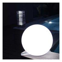 Watt&Home - Eclairage terrasse solaire lampe boule Led Girandole 38