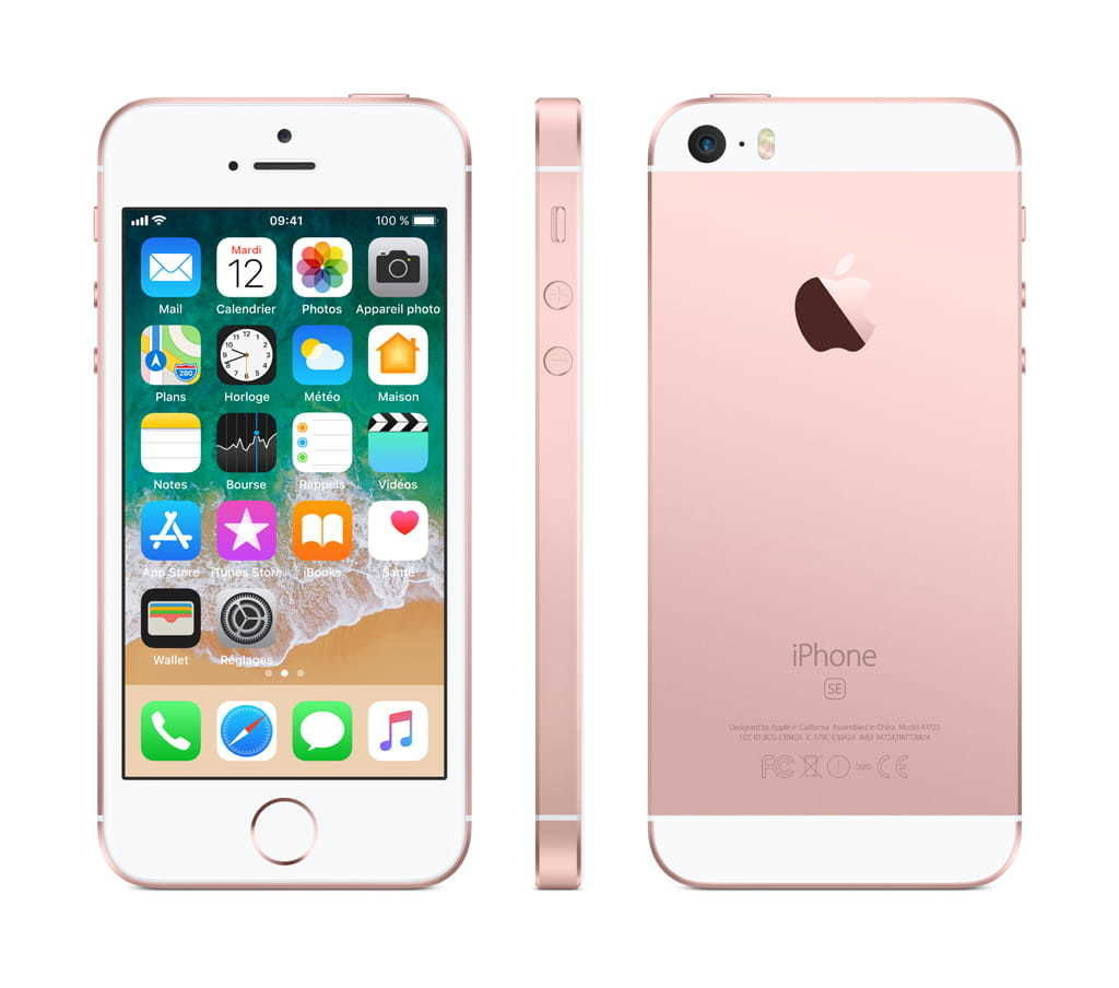 iPhone SE - 32 Go - MP852F/A - Or Rose