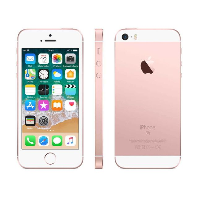 APPLE iPhone SE - 32 Go - MP852F/A - Or Rose