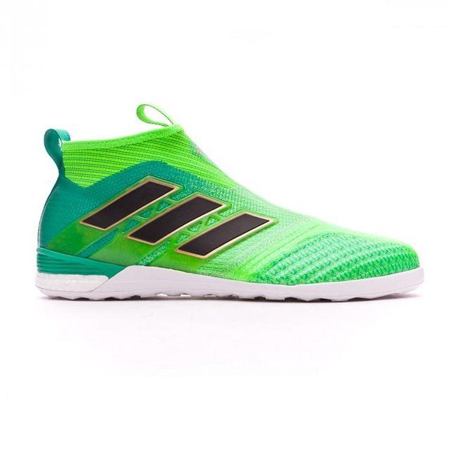 reputable site fd9b5 cbf82 Adidas performance - adidas Ace Tango 17+ Purecontrol In Solar green-Core  black-. Description Fiche technique. Nouvelles chaussures de futsal ...