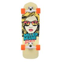 "Miller Division - Miller Surfskate Miami Beach 31"" S01SS0006 Surfskate Skateboard - Complet - Elements de qualité"