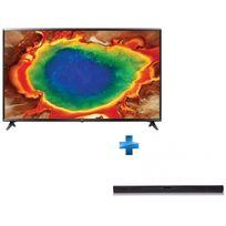 TV LED 55'' 139cm - 55UJ630V + Barre de son 2.1 - SH4