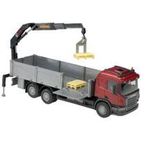 Emek - Em50405 - Scania P Cabine Avec Grues 1:25, 3AXES Cabine Rouge