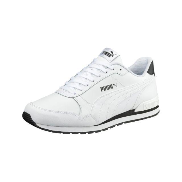 chaussures homme puma blanche