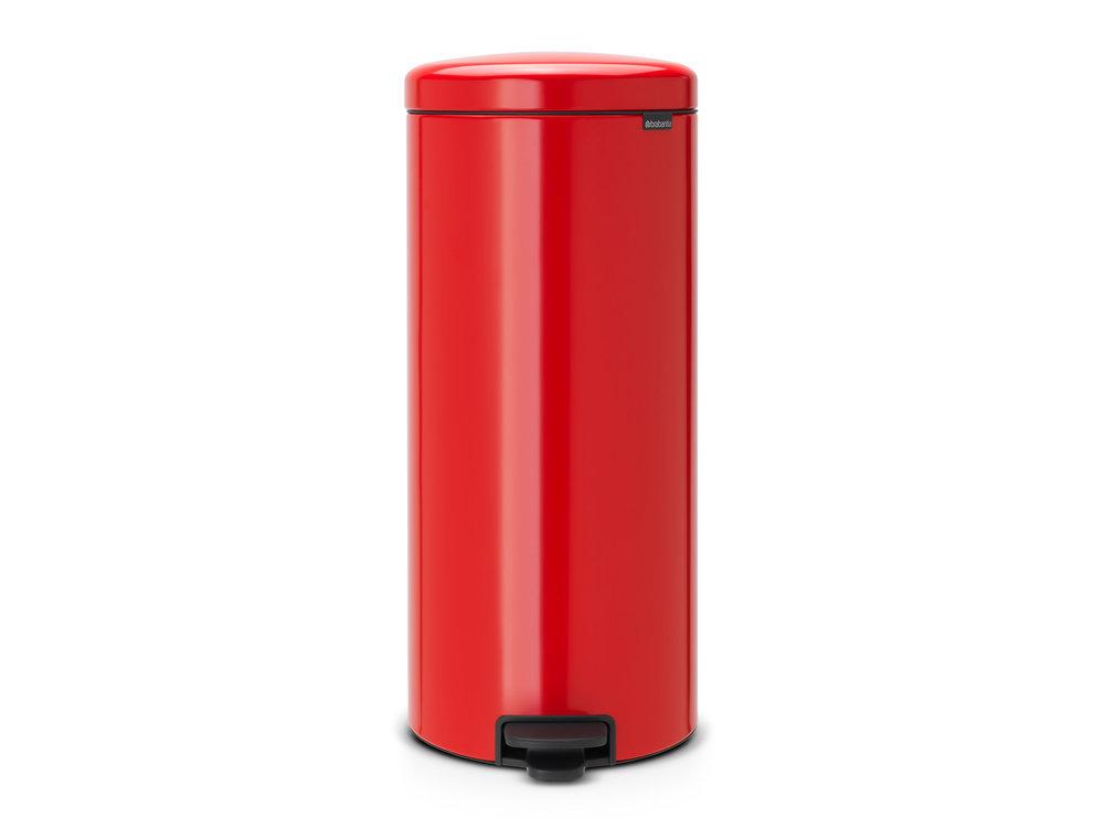 Poubelle à Pédale NewIcon, 30L - Passion Red