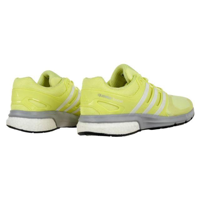 Adidas Questar Boost W Techfit Jaune pas cher Achat
