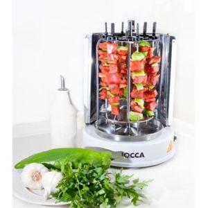 Jocca grill vertical poulet et brochettes pas cher - Grill vertical pour kebab et brochettes ...