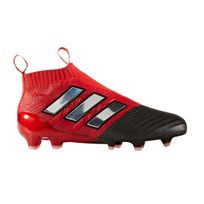 Adidas performance - Chaussures football Adidas Ace 17+ Purecontrol Fg Rouge Junior