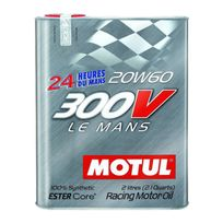 Motul - Huile Moteur 300V Le Mans 20W60 - Bidon de 2 L