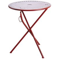 Table Ronde Terrasse table ronde terrasse - achat table ronde terrasse pas cher - rue du