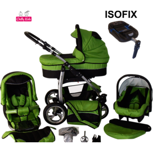 lux4kids dino poussette trio isofix nacelle poussette. Black Bedroom Furniture Sets. Home Design Ideas