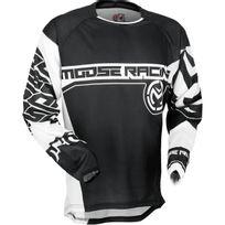Moose Racing - Maillot S7 Qualifier Noir Blanc