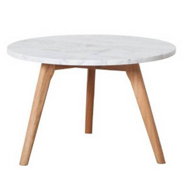 Inside 75 Zuiver Table basse Stone petit modèle en marbre