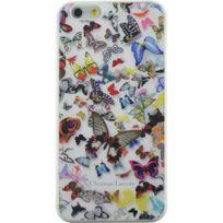 Christianlacroix - Coque Butterfly Parade de Christian Lacroix couleur Opalin pour iPhone 6 Plus