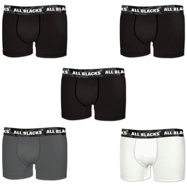 All Blacks Lot de 5 Boxers Coton Camouflage