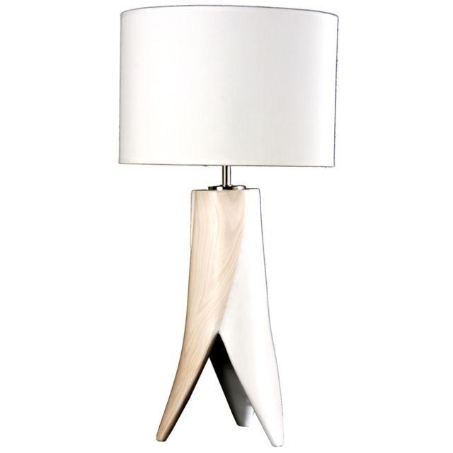 Jour Poser Lampe Avec Sampa À En Céramique Abat Helios Hauteur 3j5R4AL