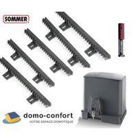Sommer - Kit motorisation portail coulissant Moteur Starter 300kg + crémaill +tél