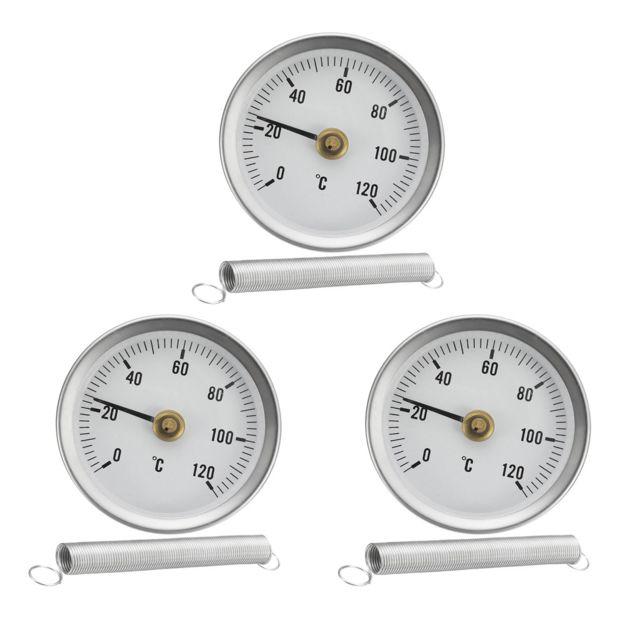Clip Thermomètre de Tuyau Mesure De Température Réservoir D/'huile 63mm