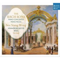 Deutsche Harmonia Mu - See Siang Wong - Les fils de Bach : Piano Concertos & Solo Pieces