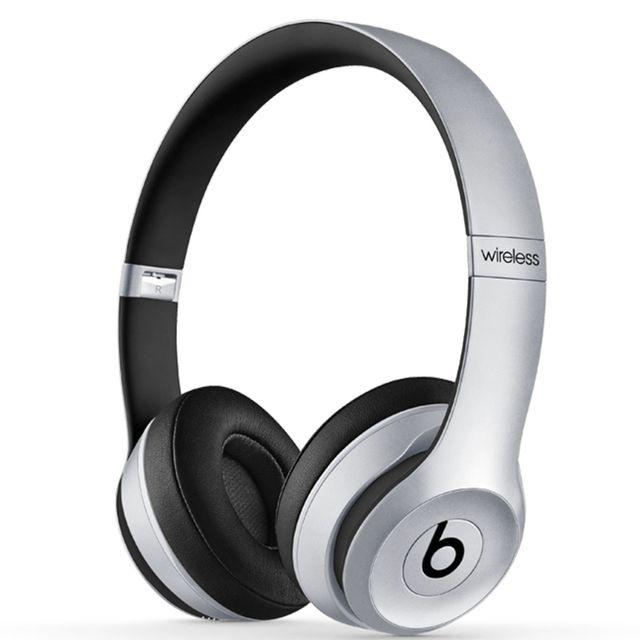 Destockage Beats Casque Bluetooth Gris Solo 2 Mklf2zma Pas Cher