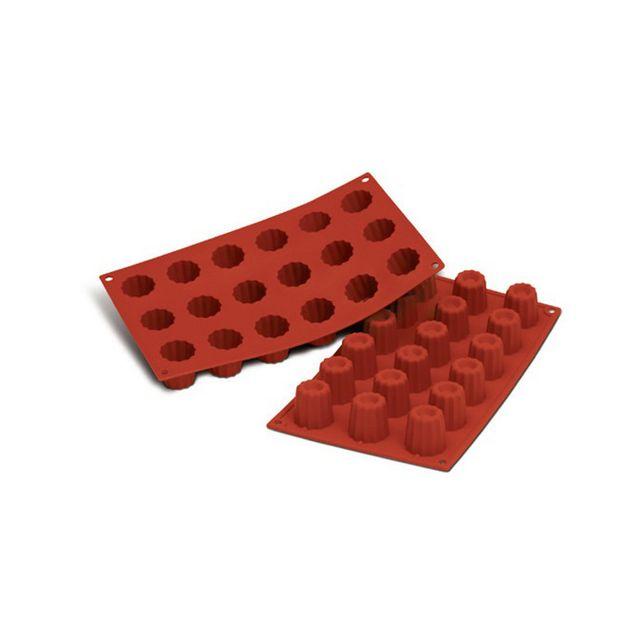 Guery Moule silicone mini cannelés 15 empreintes
