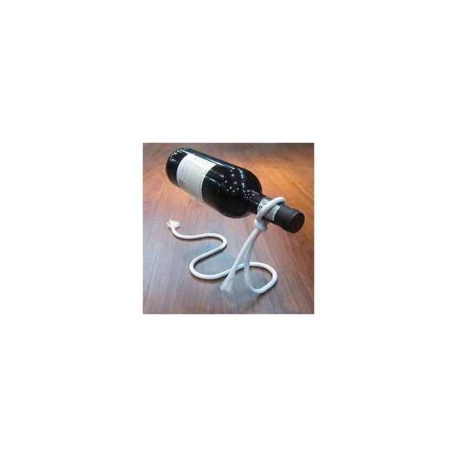 Alpexe Porte bouteille de presentation a vin en forme de corde