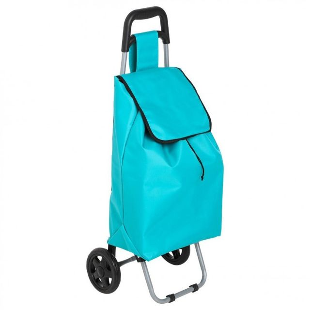 Paris Prix Chariot de Marché Design 30L Bleu