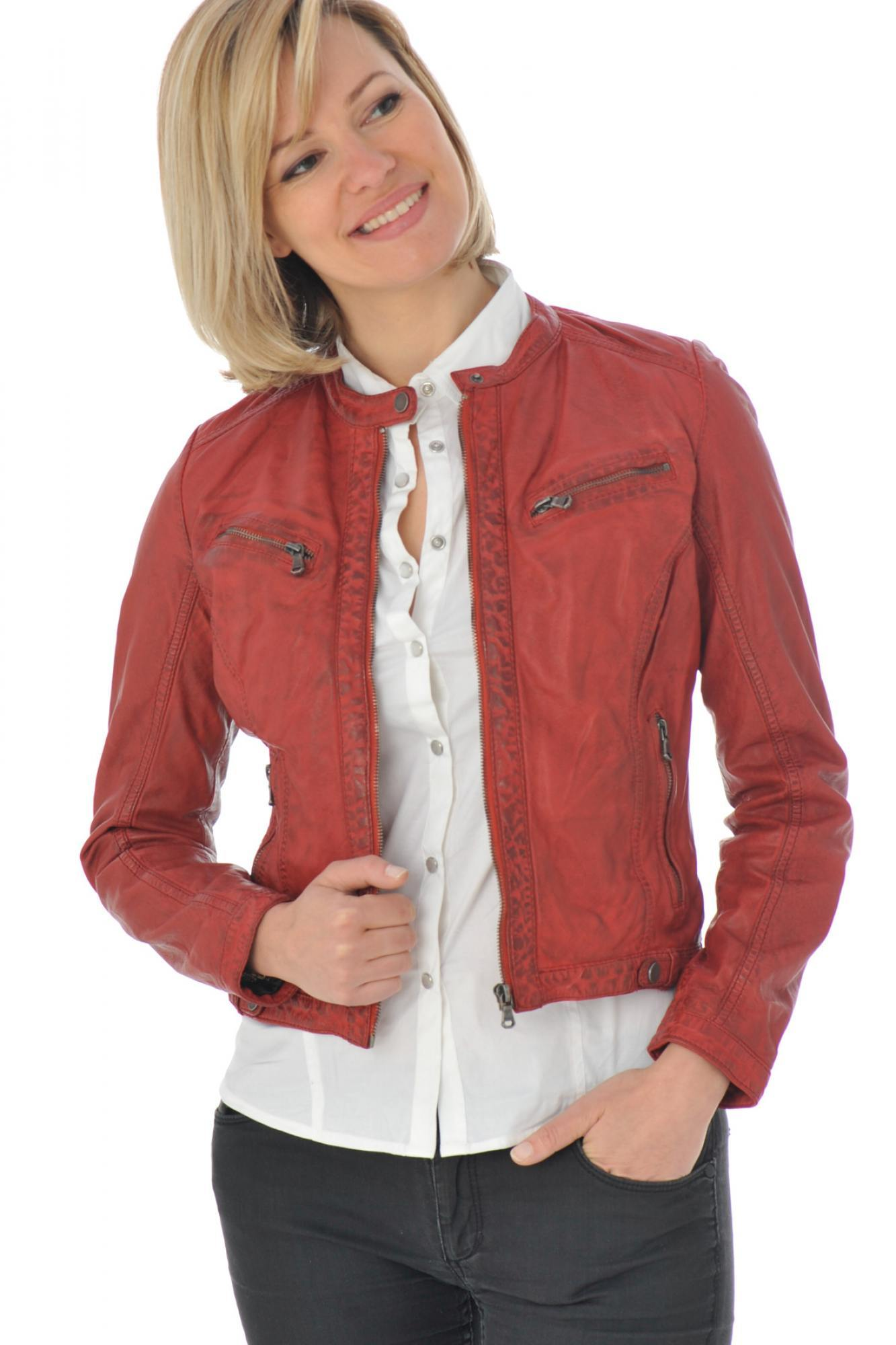 Blouson Diana calista red
