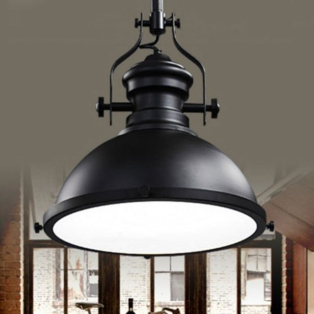 Wewoo Lampe Suspendue Luminaire Salon Led Creative Antique Art