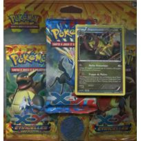 Pokemon Company International - Cartes à collectionner - Pokemon Jcc - Pack 3 Boosters Xy Etincelles : Tranchodon