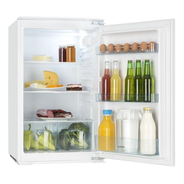 KLARSTEIN Coolzone 130 Réfrigérateur encastrable 130 litres classe A+ -blanc