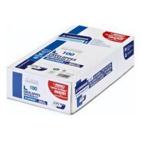 Gpvpacknpost - Enveloppe Gpv blanche 110 x 220 mm - format Dl - imprimable - sans fenêtre - boîte de 100