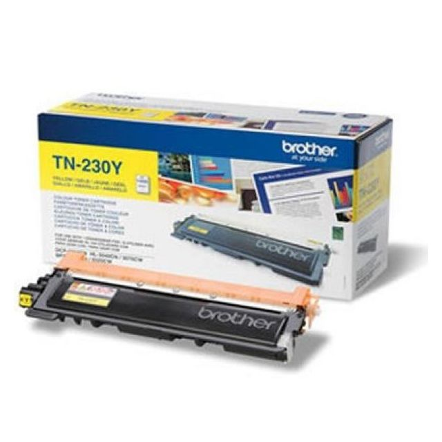 Totalcadeau Cartouche toner original Tn-230Y Hl3040/3070 jaune Brother - imprimante encre