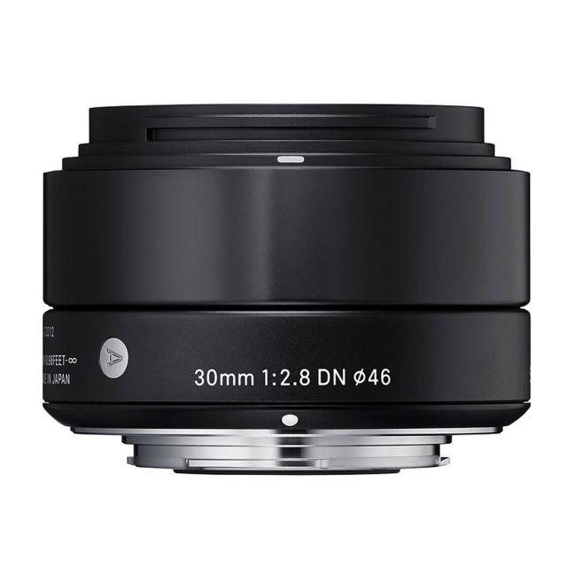 Sigma Objectif 30 mm f/2.8 Dn Art Noir pour Sony E Garanti 3 ans