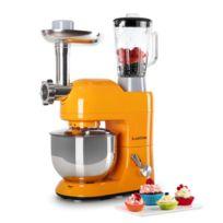 KLARSTEIN - Lucia Orangina Robot de cuisine multifonction 1200W 5 litres - Orange