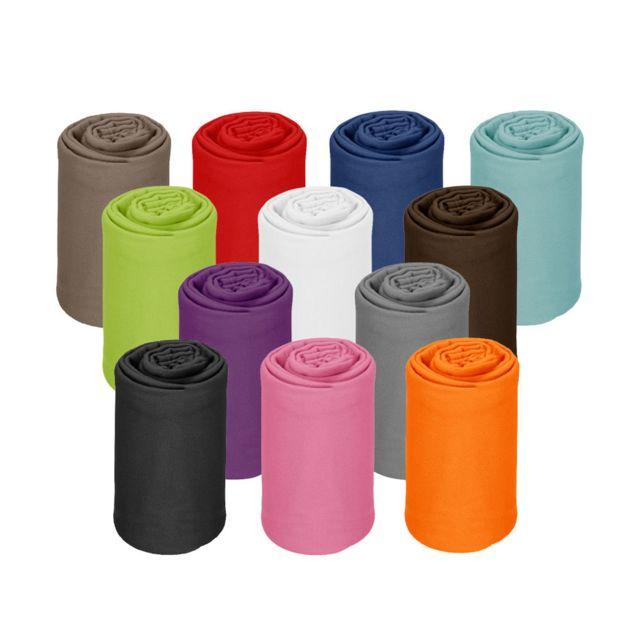 130 x 170 x 3 cm Polyester Multicolore Thedecofactory 137521 Plaid
