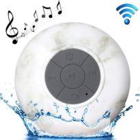 Wewoo - Enceinte Bluetooth étanche pour iPad / iPhone / autre téléphone mobile Bluetooth, fonction mains libres, anti-éclaboussures Niveau: Ipx4 Mini haut-parleur imperméable à l'eau avec ventouse