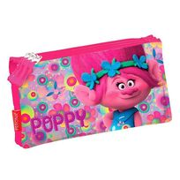 Trolls - Trousse Poppy Happy - 3 compartiments