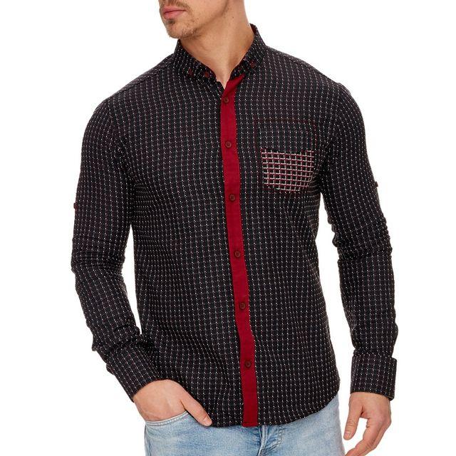 Bien-aimé chemise design homme - Achat chemise design homme pas cher - Rue  LS26