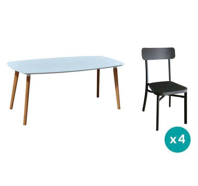 RESIDENCE - Salon de jardin DANANG / MICA - Couleur chaises ...