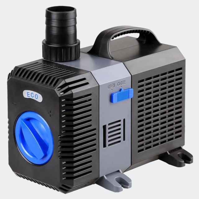 Helloshop26 Pompe à eau de bassin filtre filtration cours d'eau eco 7000l/h 50 Watts 4216028