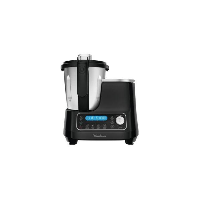 Moulinex Hf456810 Clickchef Robot Cuiseur Multifonction 5 Programmes Automatiques Robot Cuisine Compact 25 fonctions Balance Cuis