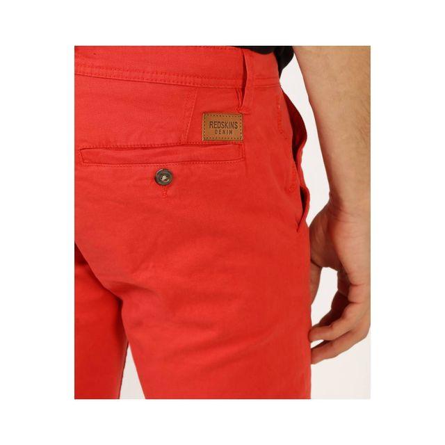 Redskins Pantalon chino red en coton stretch, coupe droite - CODY2 MAHEVAN - 29 Pantalon chino en coton stretch, coupe droite