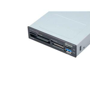 AKASA - Lecteur de cartes mémoires 3,5'' - USB 3.0