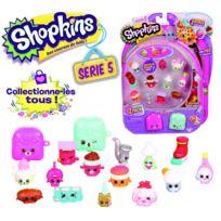 SHOPKINS - Pack 12 personnages + 2 sacs à dos - HPK42