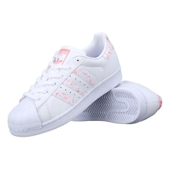 Adidas Basket Superstar W By2951 Blanc pas cher Achat