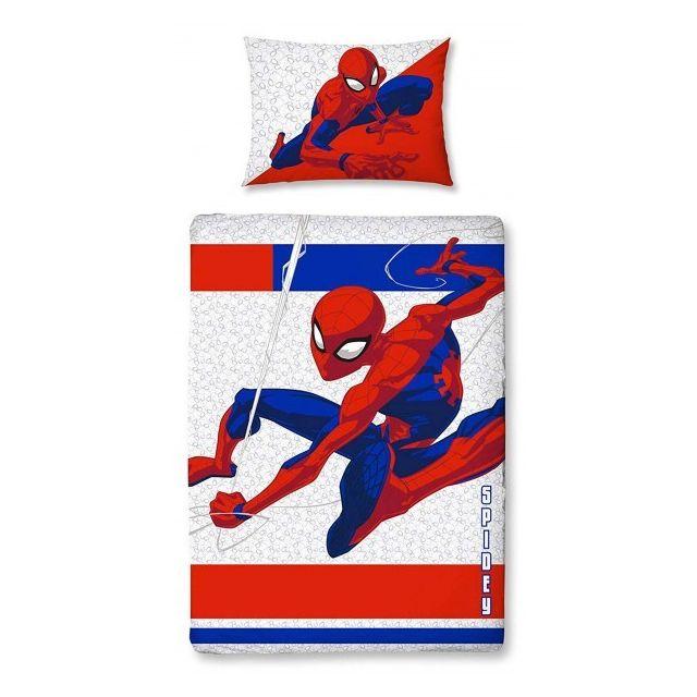 Spiderman Metropolis Parure De Lit Bebe Housse De Couette