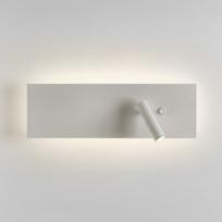 Astro - Tête de lit murale Led Edge Reader commutateur unique - Blanc